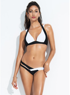 Sexy Low Waist Polyester Bikinis Swimsuit