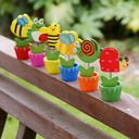 Cute Animal Wooden Place Card Holders (Set of 6)