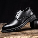 Men's Microfiber Leather Lace-up Derbies Dress Shoes Men's Oxfords