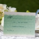 Personalized Classic Style Response Cards (Set of 50)
