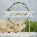 Forever & EVER Paper/plastic Cake Topper (Sold in a single piece)