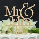 Mr & Mrs Hout Taarttoppers