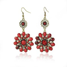 Unique Alloy With Imitation Stones Girls' Fashion Earrings