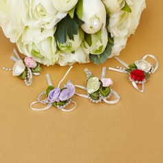 Lovely Bowknot Rose Decorative Accessories