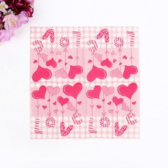 Heart Design Dinner Napkins