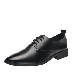 Men's Leatherette Lace-up Work Men's Oxfords