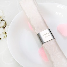 Personalized Triangle Stainless Steel Napkin Rings