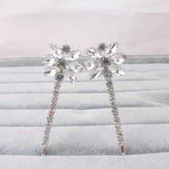Ladies Lovely Alloy Hairpins (Set of 2)