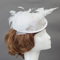 Charming Cotton Fascinators/Flowers & Feathers