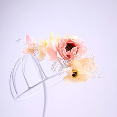 Ladies Nice Crystal/Artificial Silk Combs & Barrettes