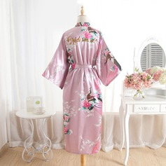 Bridesmaid Gifts - Beautiful Classic Elegant Charmeuse Robe (Sold in a single piece)