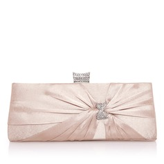 Charming Satin With Bowknot/Rhinestone Clutches