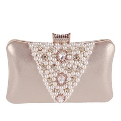 Shining Satin/Crystal/ Rhinestone/Alloy Clutches/Wristlets
