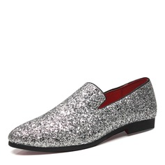 Mannen Sprankelende Glitter Penny Loafer Casual Loafers voor heren