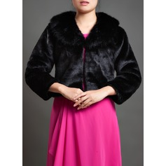 3/4-Length Sleeve Special Occasion Wrap