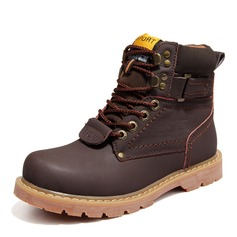 Men's Real Leather Snow Boats Casual Men's Boots (261172216)