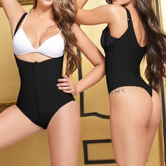 Spandex/Chinlon Adjustable Straps Shapewear