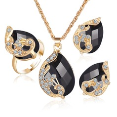 Beautiful Crystal Ladies' Jewelry Sets
