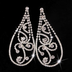 Sexy Alloy Rhinestones With Rhinestone Ladies' Fashion Earrings