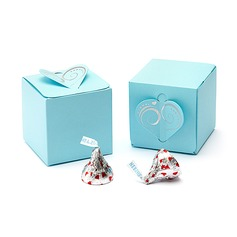 Heart style Cubic Favor Boxes