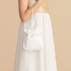 Bridesmaid Gifts - Elegant Satin Bridal Purse