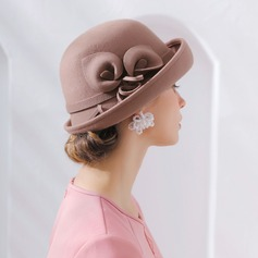Ladies' Fashion/Pretty/Charming Wool Floppy Hat