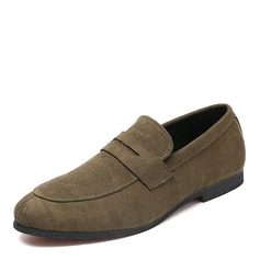 Mannen Suede Penny Loafer Casual Loafers voor heren