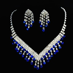 Beautiful Alloy/Rhinestones Ladies' Jewelry Sets (011050812)