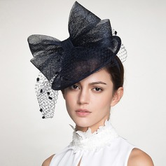 Ladies' Gorgeous/Fashion Polyester With Bowknot/Tulle Fascinators