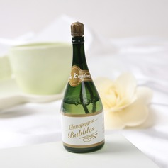 Champagne Plastic Bubble Bottle