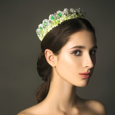 Classic Crystal/Lace Tiaras