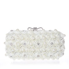 Pearl Style Lace Clutches