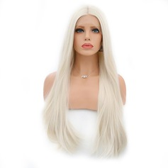 Straight Synthetic Hair Lace Front Wigs 360g