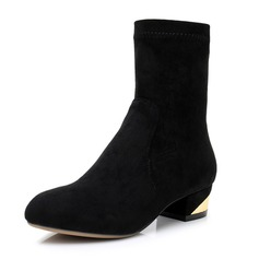 Women's Nubuck Boots Latin Modern Jazz Dance Boots Dance Shoes