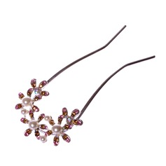 Glamourous Alloy/Imitation Pearls Hairpins