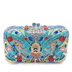 Refined Crystal/ Rhinestone/Alloy Clutches/Luxury Clutches