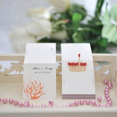 Personalized Coral Design Hard Card Paper Matchboxes