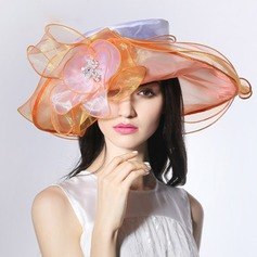 Ladies' Beautiful/Fashion/Glamourous With Flower Beach/Sun Hats