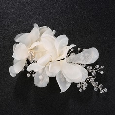 Fashion Silk Flower Flowers & Feathers (Sold in single piece)