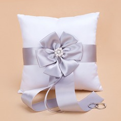 Ring Pillow With Sash/Pearl