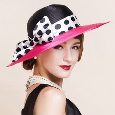 Ladies' Fashion Polyester With Bowknot Bowler/Cloche Hat