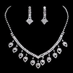 Shining Alloy/Rhinestones Women's/Ladies' Jewelry Sets