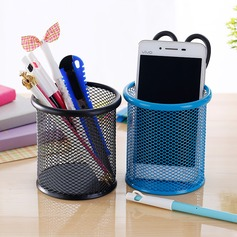 Creative fashion round mesh pen holder (Sold in a single piece)