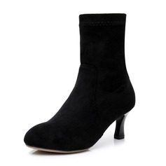Women's Suede Boots Latin Modern Jazz Dance Boots Dance Shoes
