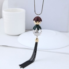 Fashional Alloy With Tassels Women's Fashion Necklace