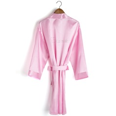 Bridesmaid Gifts - Solid Color Charmeuse Robe