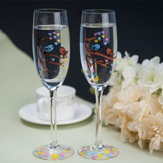 Glass Toasting Flutes (Set Of 2)