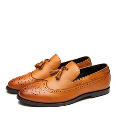 Mannen Kunstleer Brogue Tassel Loafer Casual Loafers voor heren