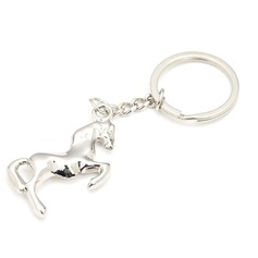 Horse Design Stainless Steel Keychains
