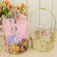 Basket Favor Boxes/Cupcake Boxes With Ribbons